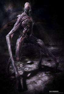 Hunter Creature by Luca Nemolato