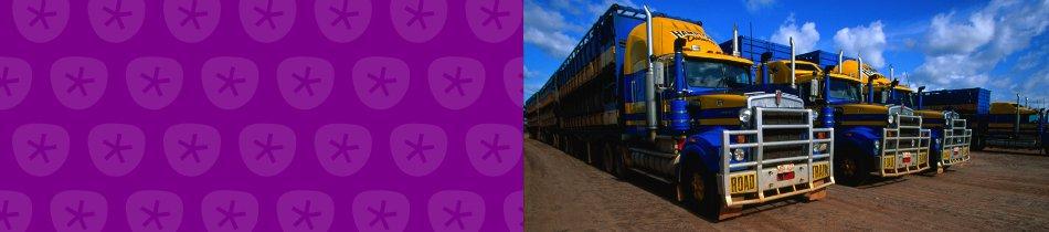 Banner_lastwagen