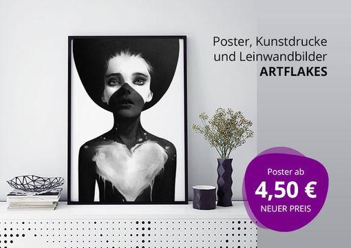 Poster, Kunstdrucke und Leinwandbilder