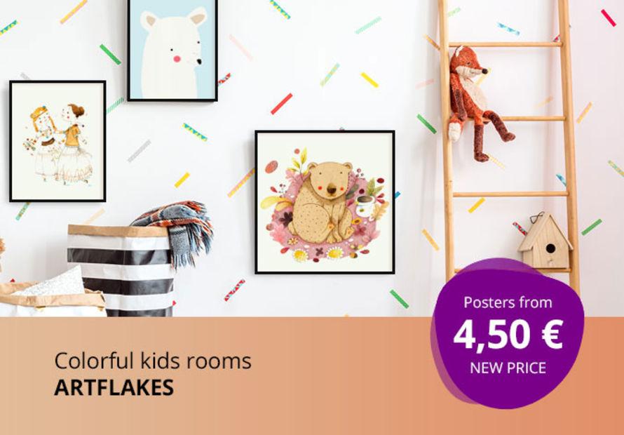 Farbenfrohe Kinderzimmer
