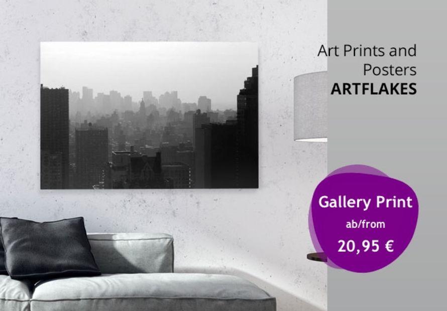 Poster, Kunstdrucke, Gallery Prints, Leinwände und Grußkarten von Artflakes kaufen